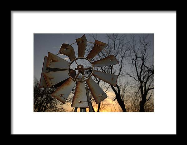 Farm Framed Print featuring the photograph Days Of Old by Amy Hininger