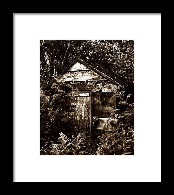 Art Photographs Photographs Framed Prints Photographs Framed Print featuring the photograph Dead Shed by The Artist Project