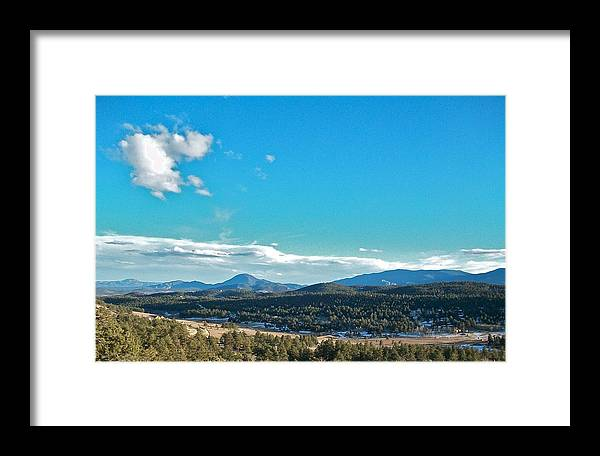 Colorado Framed Print featuring the photograph Deep Back by Colby Hill