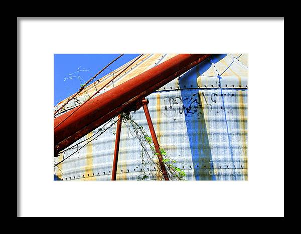 Landscape Framed Print featuring the photograph Derelict 1 by Melanie D Cervantes