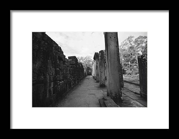 Ariksm-dt Framed Print featuring the photograph Design Temple by Arik S Mintorogo
