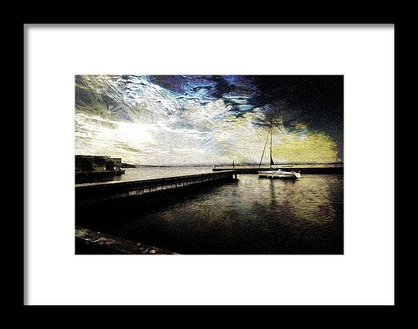 Sailing Framed Print featuring the photograph Destination - Pacific by Jay Hooker