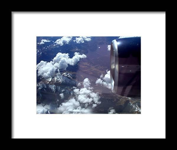 Airplane Framed Print featuring the photograph Destination Las Vegas by Amalia Jonas
