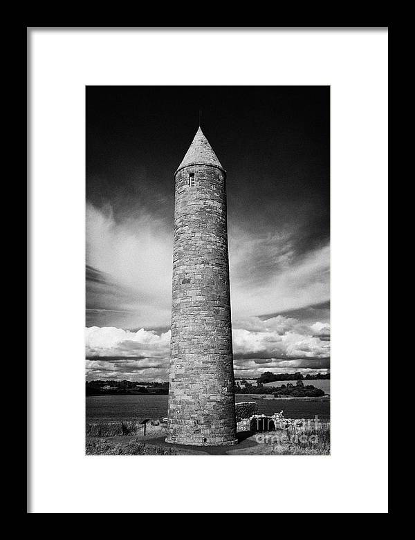 Northern Framed Print featuring the photograph Devenish Round Tower Ireland by Joe Fox