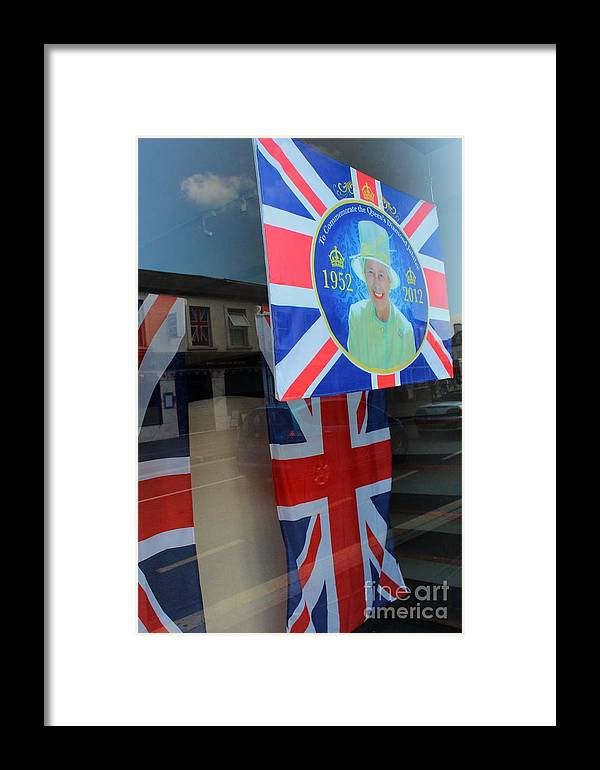 England Framed Print featuring the photograph Diamond Jubilee 1952-2012 by Rene Triay Photography