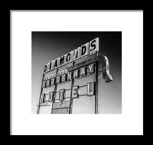 Diamonds Framed Print featuring the photograph Diamonds Don't Always Sparkle by James Bull