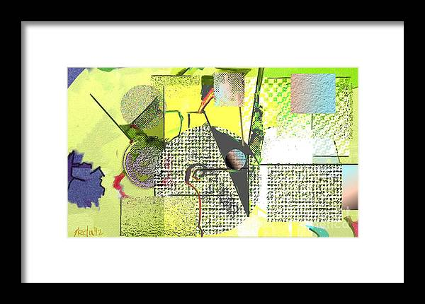 Paintings Framed Print featuring the painting Digital Design 246 by Nedunseralathan R
