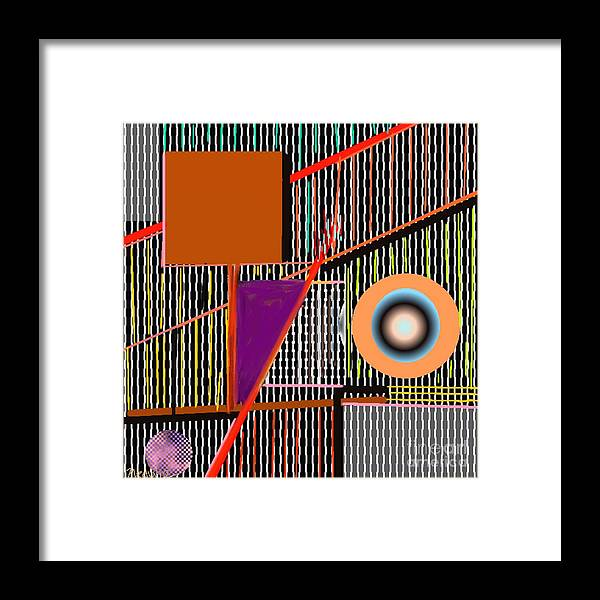Paintings Framed Print featuring the painting Digital Design 249 by Nedunseralathan R