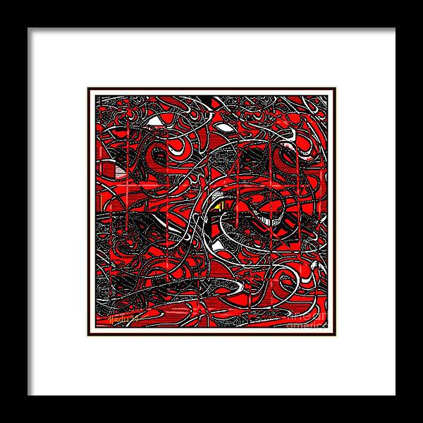 Paintings Framed Print featuring the painting Digital Design 372 by Nedunseralathan R
