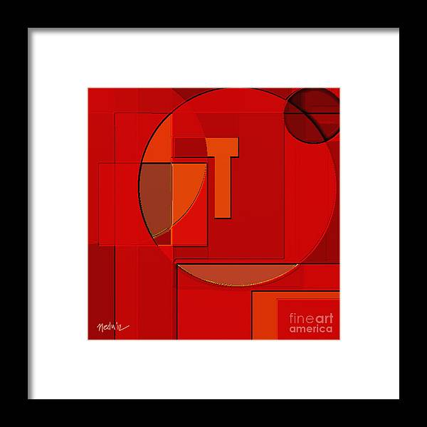 Paintings Framed Print featuring the painting Digital Design 402 by Nedunseralathan R