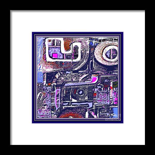Paintings Framed Print featuring the painting Digital Design 403 by Nedunseralathan R