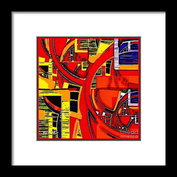 Paintings Framed Print featuring the painting Digital Design 409 by Nedunseralathan R