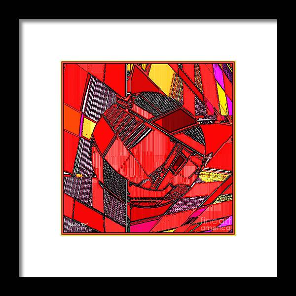 Paintings Framed Print featuring the painting Digital Design 465 by Nedunseralathan R
