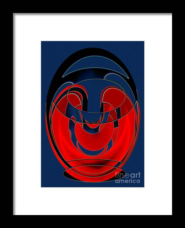 Greek Myth Framed Print featuring the digital art Diogenes Lantern by Tom Hubbard