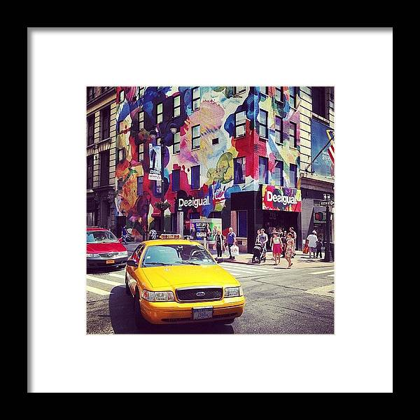 Summer Framed Print featuring the photograph Disigual by Randy Lemoine