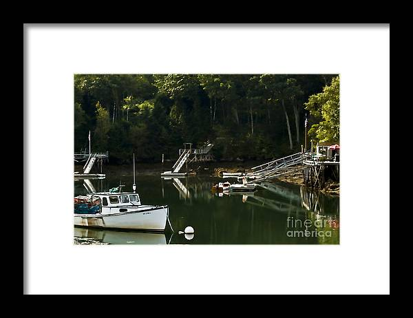 Bristol Framed Print featuring the photograph Dockers Corner by Brenda Giasson