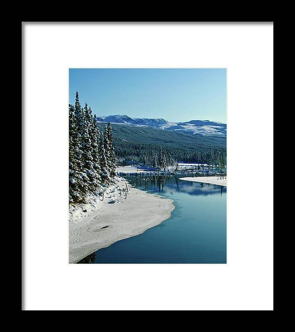 Alaska Framed Print featuring the photograph Donnelly Creek by Jim and Kim Shivers