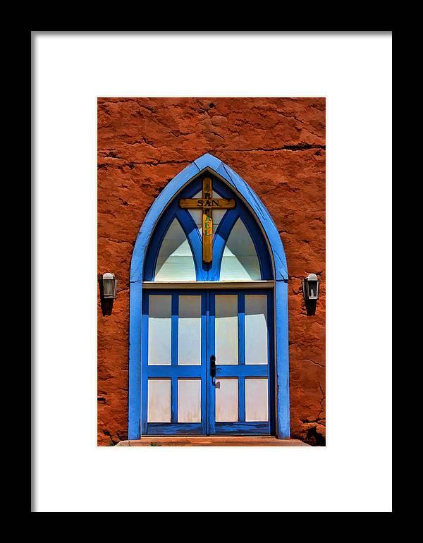 Door Framed Print featuring the photograph Doors To San Rafael by David Sanchez