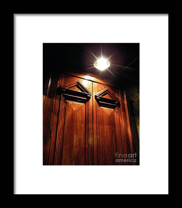 Downtown Framed Print featuring the photograph Doorway Baton Rouge by Lizi Beard-Ward