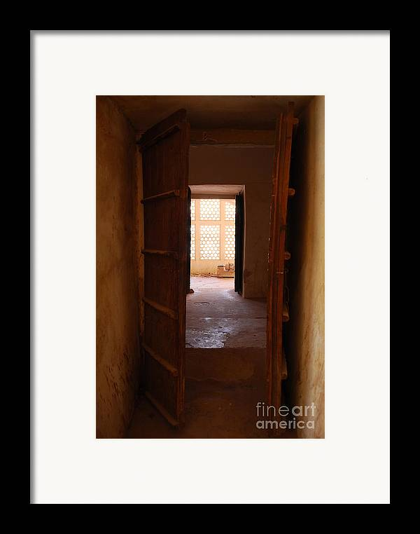 India Framed Print featuring the photograph Doorway by Jen Bodendorfer