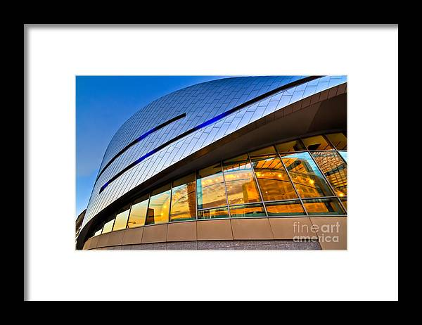Architecture Framed Print featuring the photograph Downforce by Brian Tye