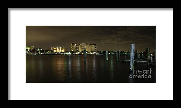 St Pete Framed Print featuring the photograph Downtown St Pete Fl by Dusty Cox