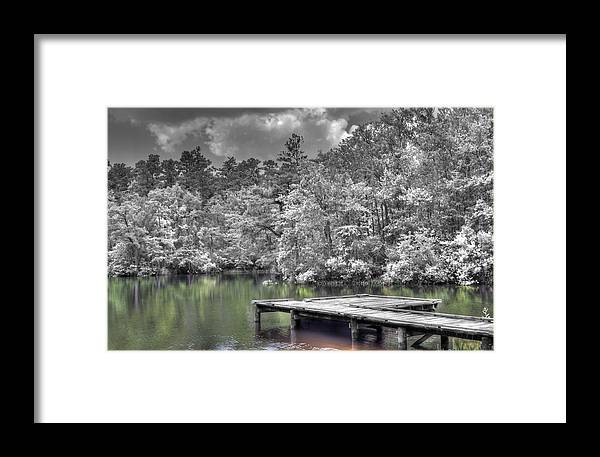 Water Framed Print featuring the photograph Dreaming by David Troxel