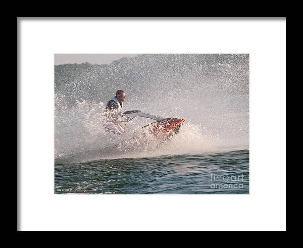 Drive Framed Print featuring the photograph Drive It Like You Stole It by Anne Kitzman