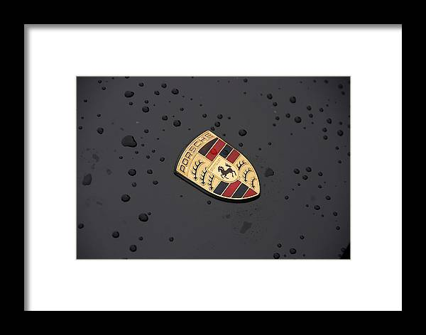 Automobiles Framed Print featuring the photograph Drizzle by John Schneider