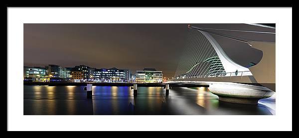 Dublin Framed Print featuring the photograph Dublin City by Brendan O Neill