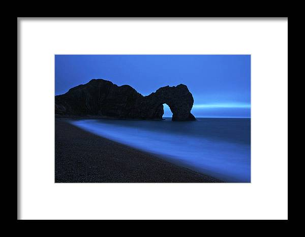 Durdle Door Framed Print featuring the photograph Durdle Door by Beth Morris