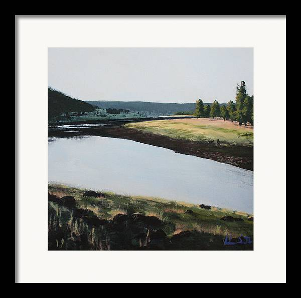 Arizona Framed Print featuring the painting Early Morning by Adam Smith