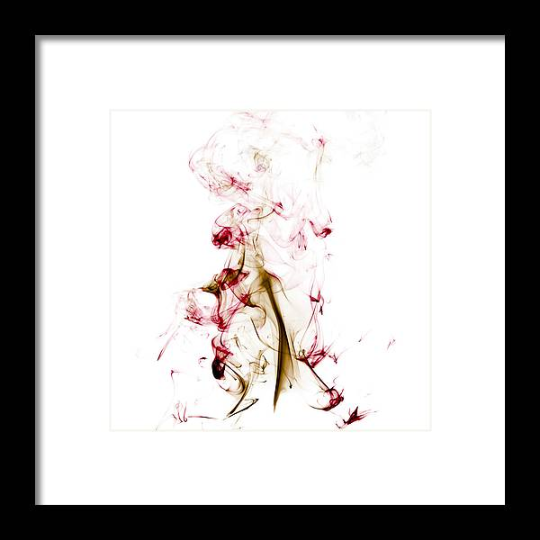 Smoke Framed Print featuring the photograph Earth Coloured Smoke by Clinton Lundberg
