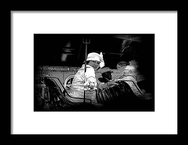 New Orleans Framed Print featuring the photograph Easter Egg Parade by Linda Kish
