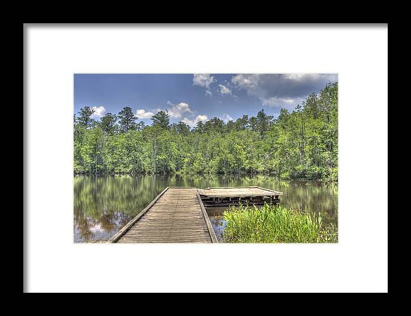 Water Framed Print featuring the photograph Easy Livin' by David Troxel