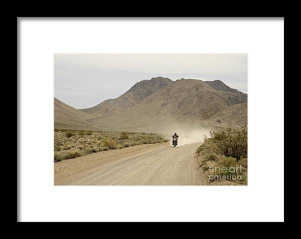 California Framed Print featuring the photograph Eat My Dust by Katja Zuske
