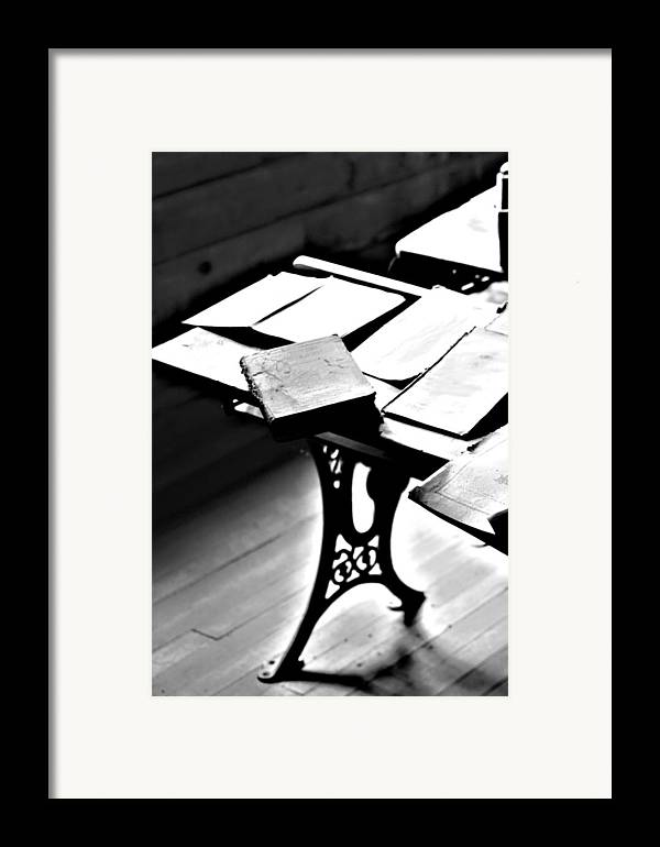 Elm Framed Print featuring the photograph Education Station by Jerry Cordeiro