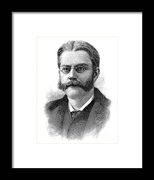 1894 Framed Print featuring the photograph Edward Holden (1846-1914) by Granger