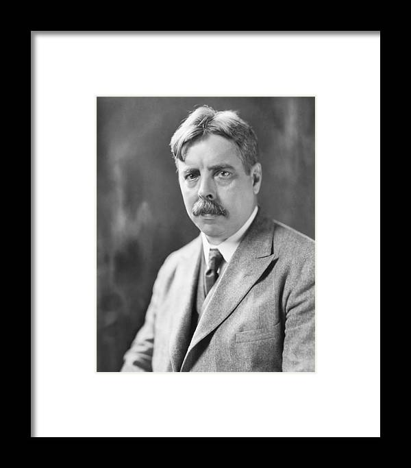 Edward Lee Thorndike Framed Print featuring the photograph Edward Thorndike, American Psychologist by Humanities And Social Sciences Librarynew York Public Library