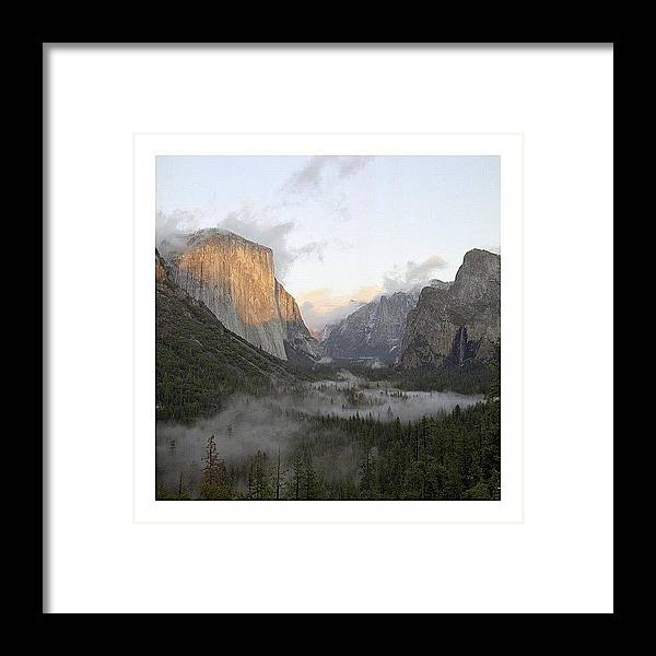 Europe Framed Print featuring the photograph El Capitan. Yosemite by Randy Lemoine