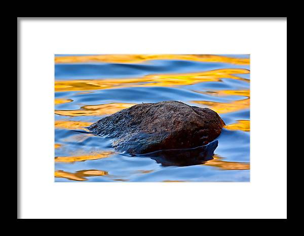 Reflection Framed Print featuring the photograph Elements by Jennifer Grover