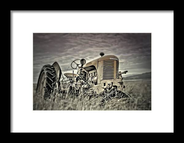 Case Framed Print featuring the photograph Embracing The Path by Mark Ross