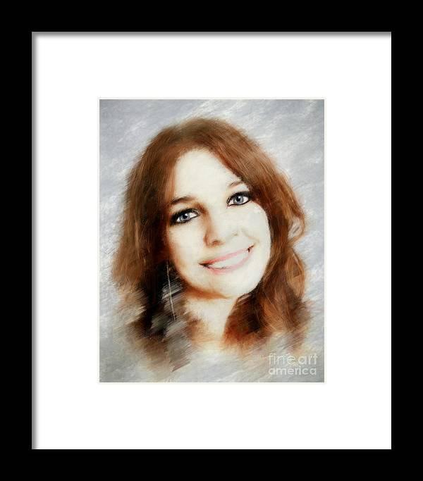 Arne J Hansen Framed Print featuring the photograph Emelia by Arne Hansen