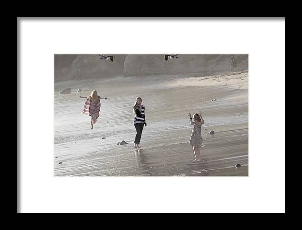 Emerged From The Sea Framed Print featuring the photograph Emerged From The Sea by Viktor Savchenko
