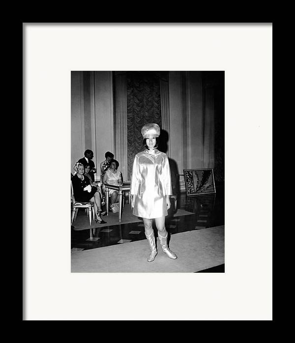 History Framed Print featuring the photograph Emilio Pucci Ensemble Influenced by Everett