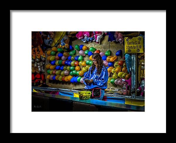 Carnival Framed Print featuring the photograph End Of The Night by Bob Orsillo