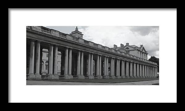 Columns Framed Print featuring the photograph Endless Columns by Anna Villarreal Garbis