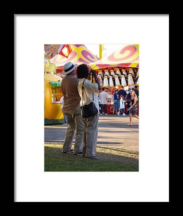 Carnival Framed Print featuring the photograph Enjoying by Joe Fernandez