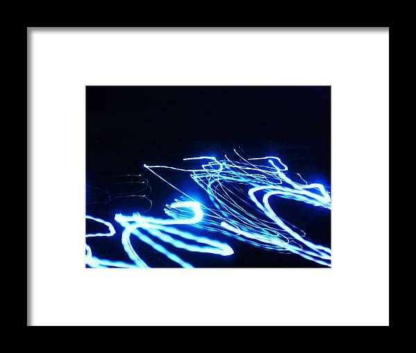 Lights Framed Print featuring the photograph Enter The Dragon by Jessi Williams