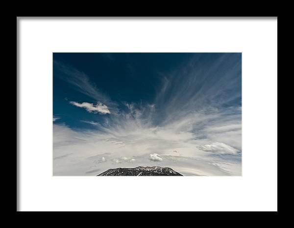 Eruption Framed Print featuring the photograph Eruption by Mitch Shindelbower